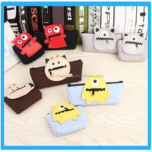 Hot Fashion Convinent Cheaper Lovely School Student Pen Pencil Bag