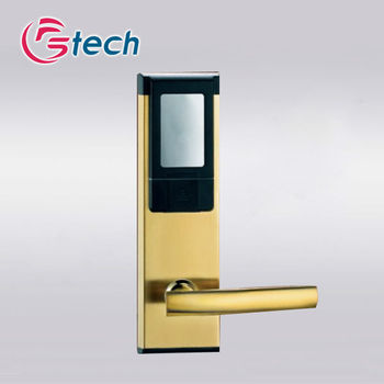 Hotel m1 card door lock standalone with 4AA batteries