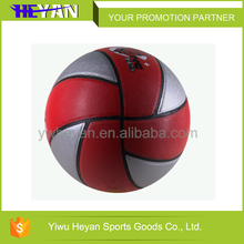 Wholesale china mini basketball with customized logo PU laminated basketball