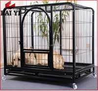 Supplier Sale Large Steel Square Tube Double Custom Dog Cage