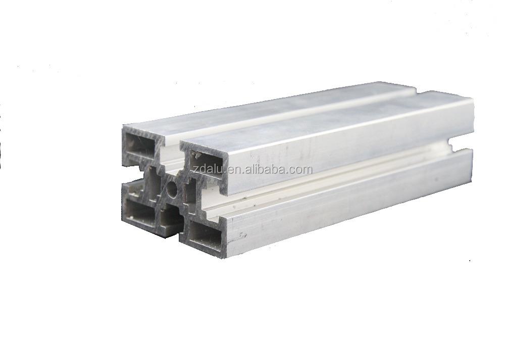 Aluminium t slot track rail profile for hot sale
