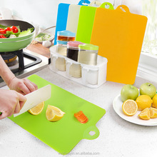 Wholesale Flexible Antibacterial Foldable Cutting Board