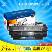 Use For LaserJet Pro 400 M401a Compatible Toner Cartridge 505X/280X for HP With 100% Defective Replacement in Zhuhai