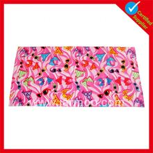 Wholesale outdoor double sides printed digital fabric printing towels