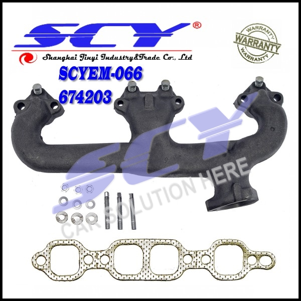 Exhaust Manifold Driver Side Left LH for GMC 1500 Jimmy Chevy C K 10 Impala 674-203 674203