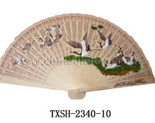 wholesale wood Craft Hand Fan,Wedding Favors Sandalwood Wedding Invitation fans,bamboo folding fan