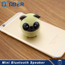 Wholesale Factory Cheap Price Promotion Smart Mini Animal Wireless Bluetooth Speaker for Christmas Promotional Gift