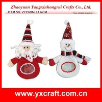 2015 hot sale fabric Santa Claus - Snowman Christmas Candy Bag - Christmas Decoration