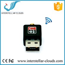 150Mbps Wireless Adapter RT5370 Wifi Connection with 2dBi antenna Wireless N Dongle