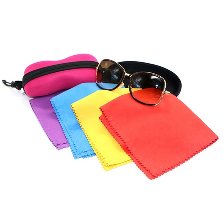 Silkscreen Microfibre Cleaning Sunglasses Cloth