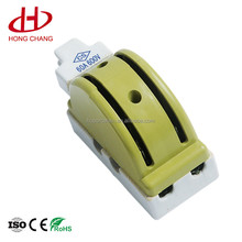 factory direct sales double throw double pole 60A porcelain green knife switch