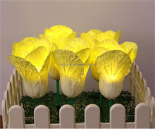 New creative design simulated vegetable plant lighting home accents holiday led lights