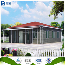 scandinavian style one-storey well-insulated foam cement prefab house