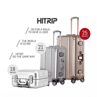 Best Sell Hard Strong Durable Aluminum Trolley Luggage /Case /Bag