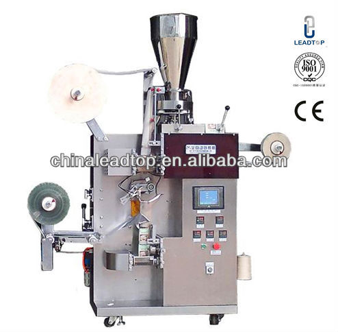 Thread and Tag available Model LTDX-115 Automatic outter and inner package Tea Bag package Machine