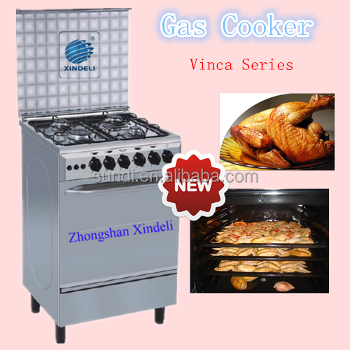 New Type Cooker With Oven Cooking Range Free Standing Oven Gas Cooker 4 Burners With The Best Material