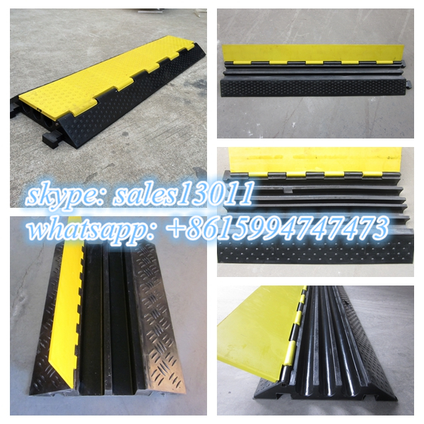 good pvc cable protector/guard/hump, water proof rubber cable ramp