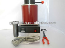 1PC/Lot Jewelry Casting Machine 2kg Gold Electric Melting Furnace with a 2kg Graphite Crucible and Plier