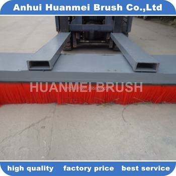 Forklift Sweeper brush