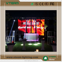 china sexy video curtain led display wall hot video rental led screen