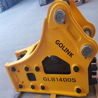 20T Excavator Road Construction Equipment Side