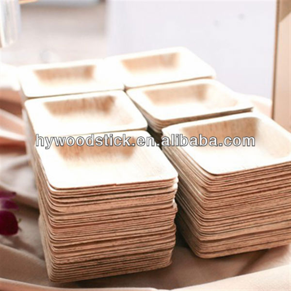 Catering Supplies Biodegradable Bamboo Plates