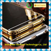 newest mirror mobile phone case Luxury Aluminum Acrylic cell phone case with mirror, for iphone 6 case