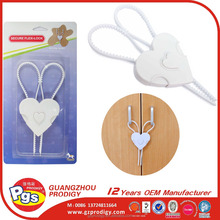 heart shape lock plastic safety lock -baby safety product