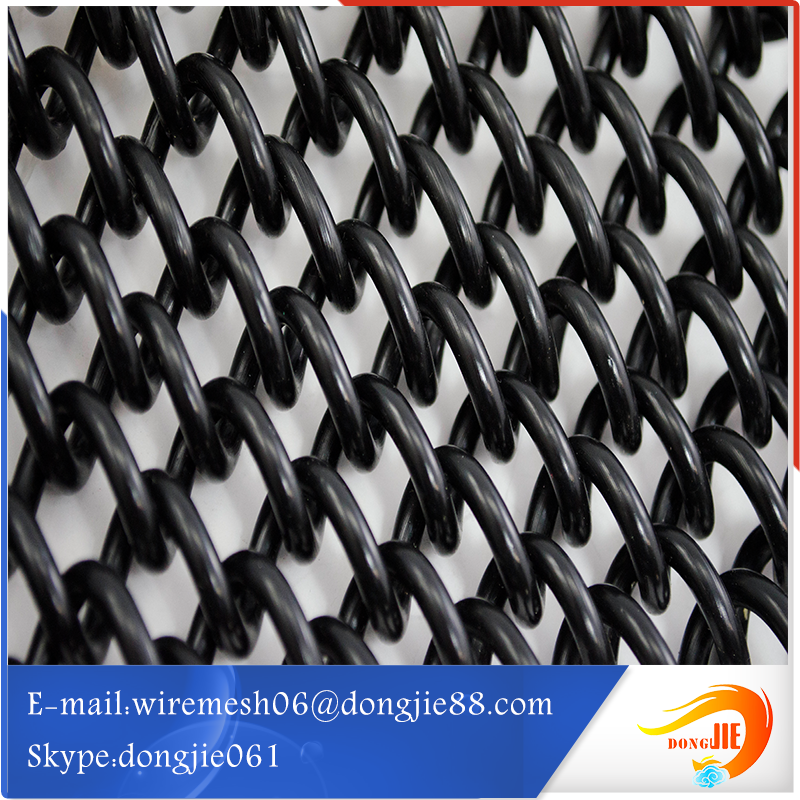 Well designed copper Chain link mesh