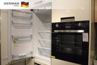 GermanPool Customized High Quality Moisture proof Acrylic surface Refrigerator Built in Kitchen Cabinets
