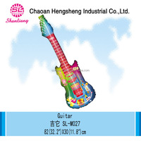 Foil inflatable toys balloon guitar
