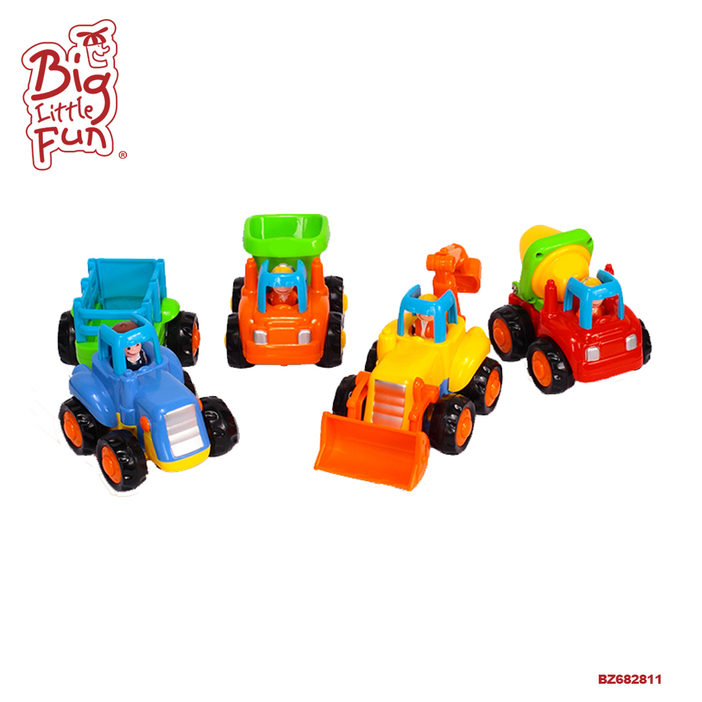 Huile plastic funny kids mini <strong>friction</strong> truck toy