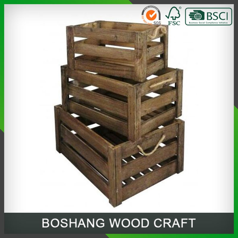 Cheap Wooden Wine Box Made in China