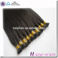 China Supplier Private Label Best Selling Famous High Quality Tangle Free Full Cuticle Different Color Human Remy Hair Extension