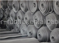 Industrial rubber sheet with Cloth/Nylon insertion