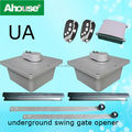 Ahouse New Design Underground Flashing Light Swing Gate Motor Underground Swing Gate Operator
