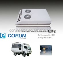 CE Certificated rooftop mounted minibus air conditioning system AC12