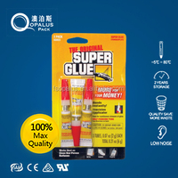 Golden Three Second_1 Pcs._Super Glue_Cyanoacrylate Adhesive_Fast Strong Bond_High Quality