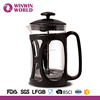 Yingmaode Houseware Customized Pyrex Glass French Press Coffee Plunger Maker 800ml