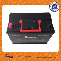 high quality of lastest japan technology N60 55d23l 12v 60ah mf car battery low price hot sale in India market