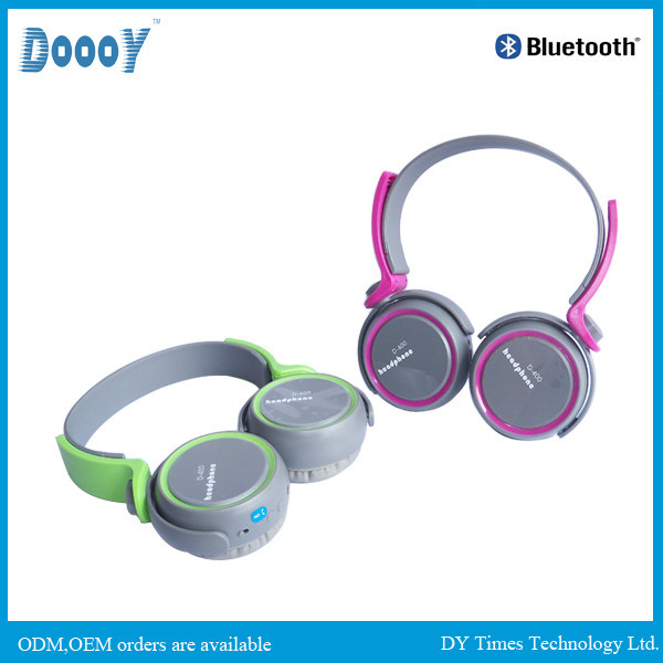 D400 hign quality wireless custom brand name headphone
