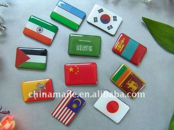 promotional 3D epoxy magnet