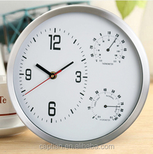 digital clock,wall clock with barometer and thermometer