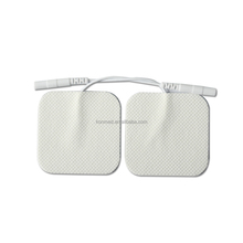 Wholesale Bulk Electrode Pads 5x5cm Tens Electrodes TENS EMS Nerve Stimulator with 2mm Plug electric stimulator tens pads