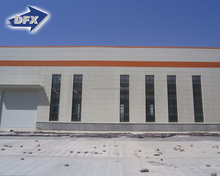 Shandong prefab metal roof steel structure storage building kits warehouse