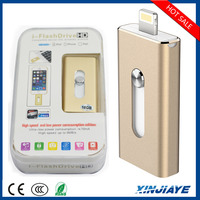 Alibaba wholesale OTG HD u disk USB flash drive,iFlash drive u disk for iPhone PC 8G/16G/32G64G bulk promotional usb flash drive