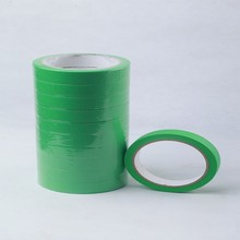 China suppliers hot sale green masking paper adhesive spray tape on auto paint