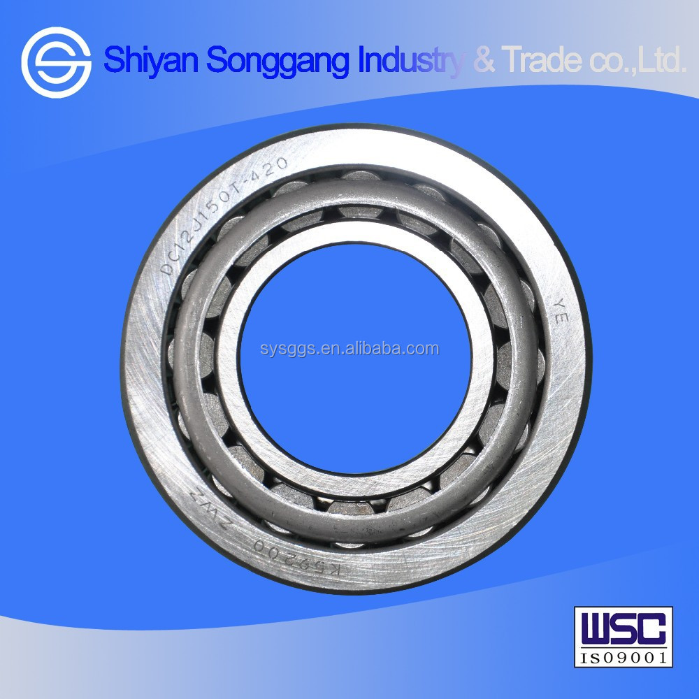 Dongfeng truck parts Intermediate shaft front bearing DC12J150T-420/59200/59412