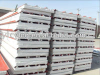 EPS Prefabricated steel structure sandwich roofing and wall panles