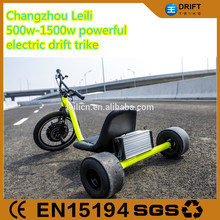 New Hottest outdoor sporting electric drift trike 1000w motor three wheel ebike